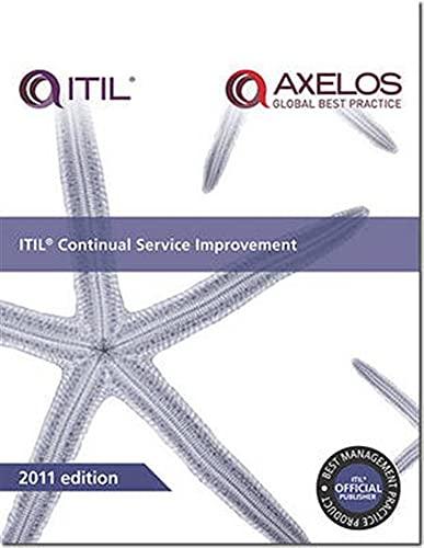 9780113313082: ITIL Continual Service Improvement (Best Management Practices)