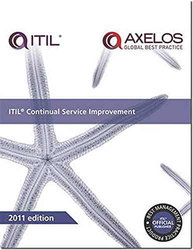 9780113313082: ITIL Continual Service Improvement 2011 Edition (Best Management Practices)