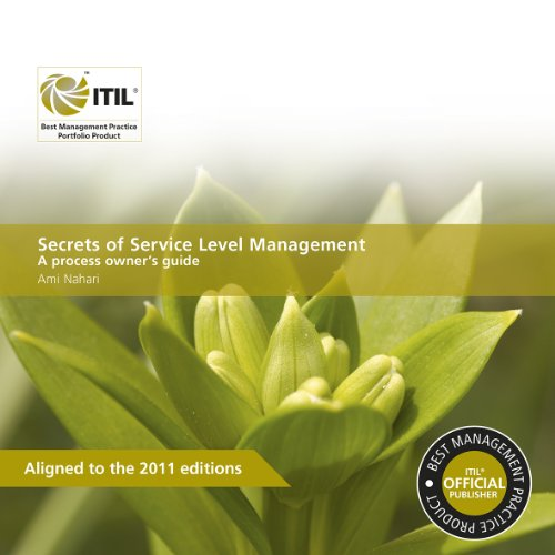 9780113313525: ITIL Secrets Of Service Level Management: A Process Owner's Guide