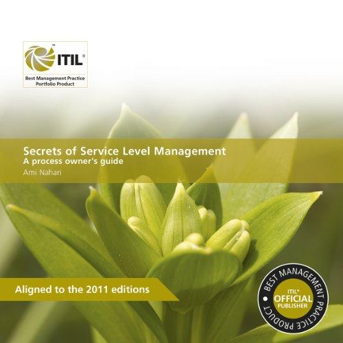 9780113313525: Secrets of Service Level Management: A Process Owner's Guide