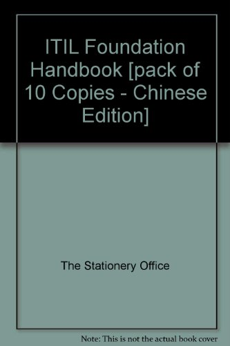 9780113313587: ITIL Foundation Handbook [pack of 10 Copies - Chinese Edition]