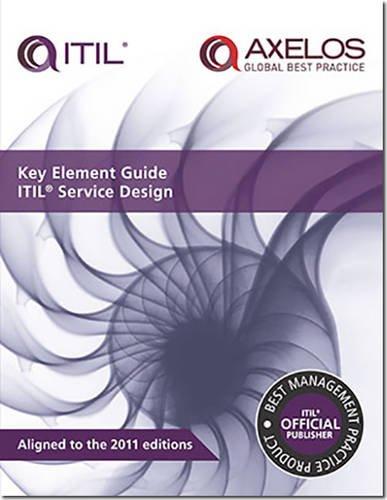 key element guide itil service design paperback by lou hunnebeck great britain cabinet. Black Bedroom Furniture Sets. Home Design Ideas