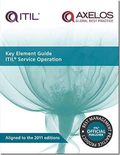 9780113313631: Key element guide ITIL service operation (Key Element Guide Suite)