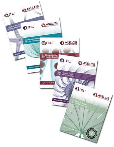 9780113313709: Key Element Guide Suite (Aligned to the Itil 2011 Editions)