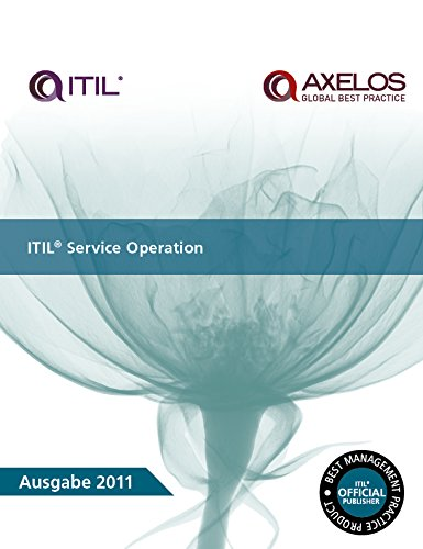 9780113314034: ITIL Service Operation: [German Translation]