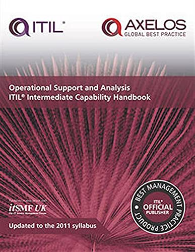 9780113314294: Operational support and analysis: ITIL Intermediate Capability Handbook