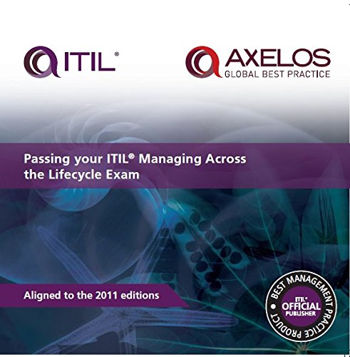 9780113314386: Passing Your Itil Managing Across the Lifecycle Exam Book