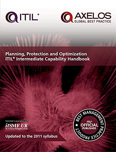 9780113314546: Planning, protection and optimization: ITIL 2011 intermediate capability handbook (single copy)