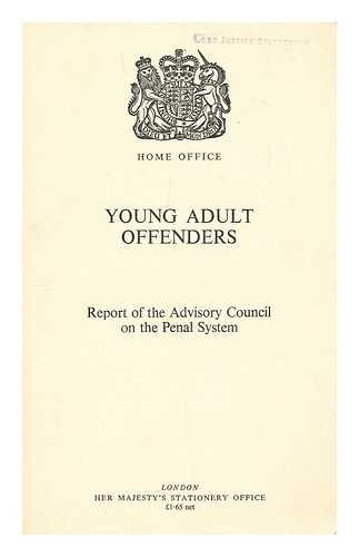 9780113405596: Young Adult Offenders