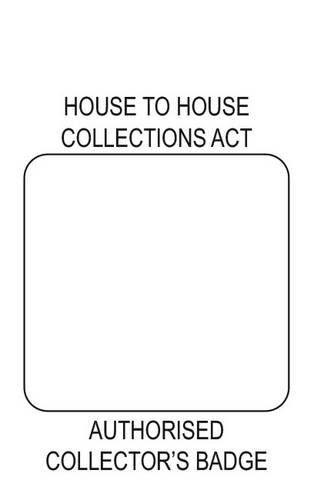 9780113407422: House to House Collectors Act 1939: [Combined Badge and Certificate of Authority for Collector Performing House to House Collection]