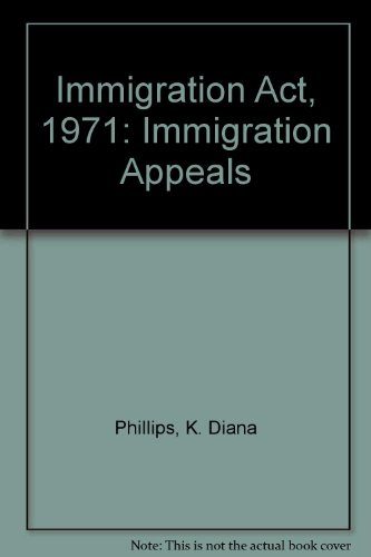 9780113407804: Immigration Act, 1971: Immigration Appeals