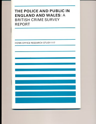 9780113409952: The Police and Public in England and Wales (Research Studies)