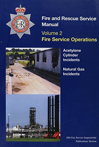 9780113412266: Fire Service Manual: Cylinder Incidents and Natural Gas Incidents