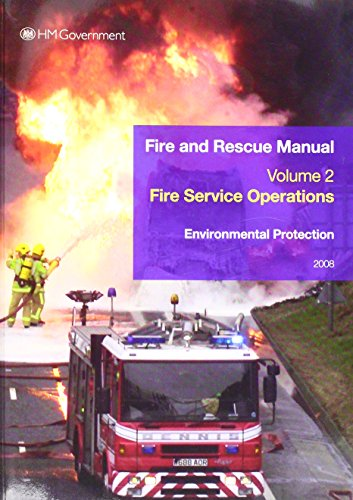 9780113413164: Environmental Protection: Fire and Rescue Manual, Volume 2, Fire Service Operations (v. 2)