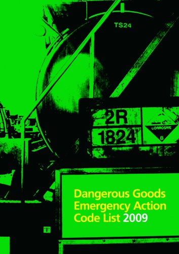 9780113413263: Dangerous goods emergency action code list 2009 (Fire and Rescue Services Manual)