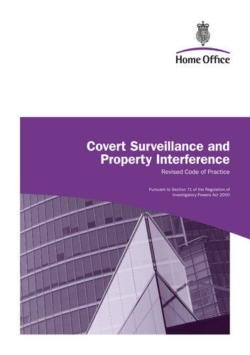9780113413362: Covert surveillance and property interference: revised code of practice