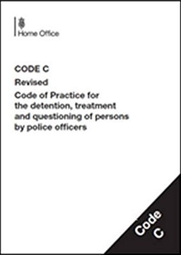 9780113413706: Police And Criminal Evidence Act 1984 (Pace): Code Crevised Code Of Practice