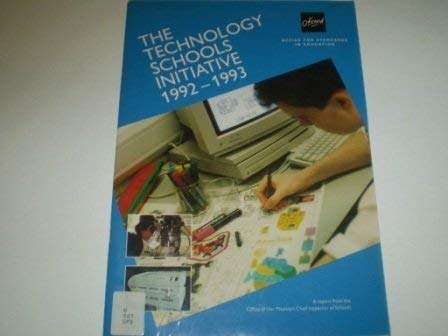 9780113500383: Technology Schools Initiative: 1992-93