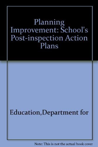 9780113500659: Planning Improvement: School's Post-inspection Action Plans
