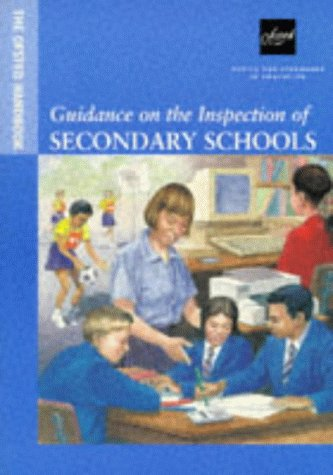 9780113500673: The OFSTED Handbook: Guidance on the Inspection of Secondary Schools