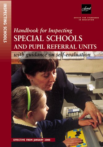 9780113501113: Handbook for Inspecting Special Schools and Pupil Referral Units