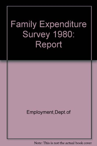 9780113612277: Family Expenditure Survey 1980: Report