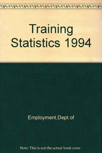 9780113613366: Training Statistics 1994