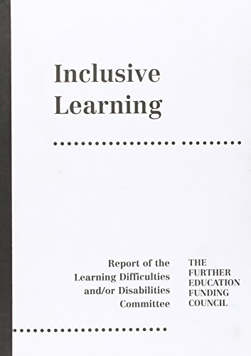 9780113613410: Inclusive Learning: Report of the Learning Difficulties and/or Disabilities Committee