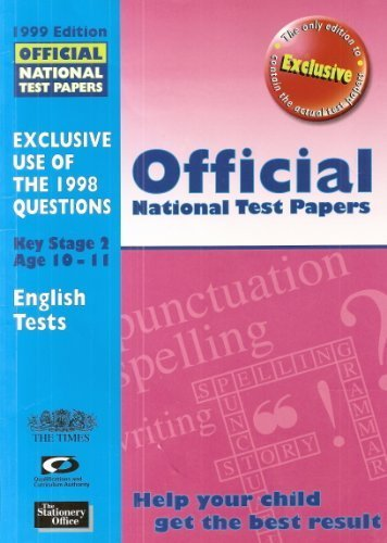 9780113700608: Official National Test Papers 1999: Key Stage 2