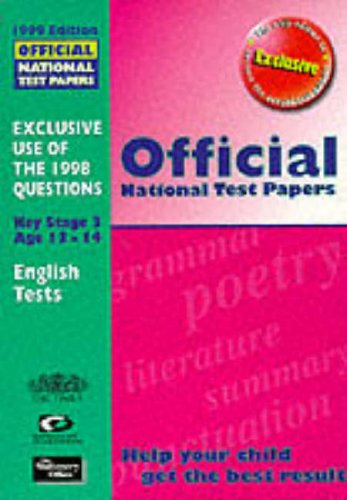 9780113700639: Official National Test Papers 1999: Key Stage 3