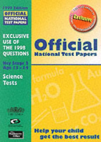 9780113700653: Official National Test Papers 1999: Key Stage 3
