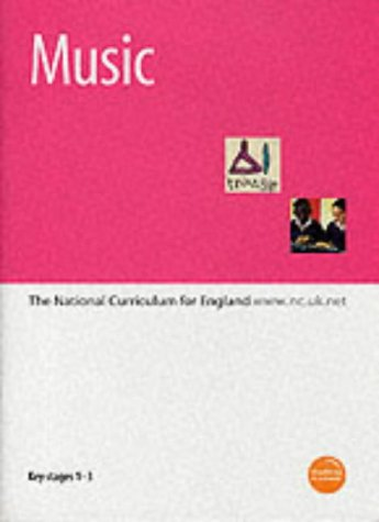 9780113700776: Music: Key Stages 1-3: The National Curriculum for England