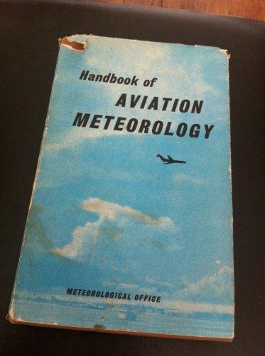 9780114001070: Handbook of Aviation Meteorology (Met.O.818)