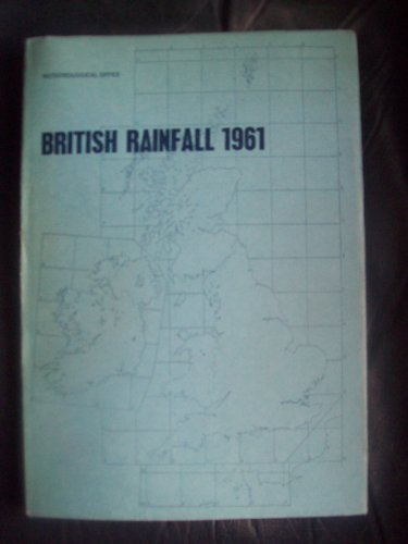 9780114001681: British Rainfall: v. 1: Supplement, 1961-65 (Meteorological Office. Met.0.833)