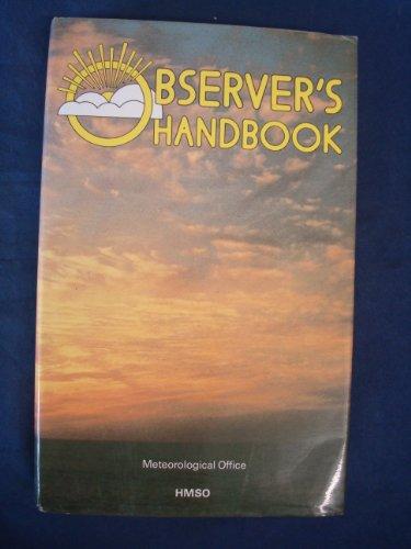 9780114003296: Observer's Handbook (Met. O)