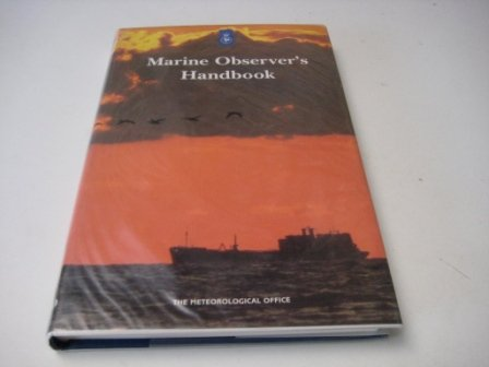9780114003678: The Marine Observer's Handbook (Met. O)