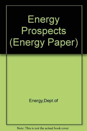 9780114102890: Energy Prospects (Energy Paper)