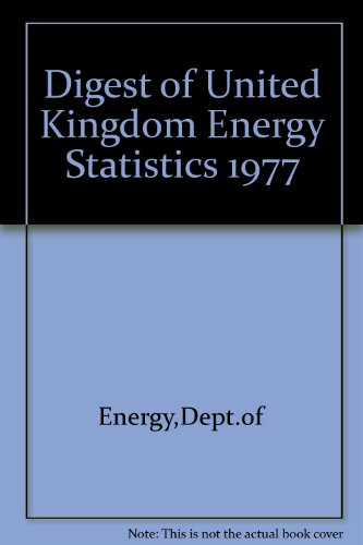 9780114102999: Digest of United Kingdom Energy Statistics