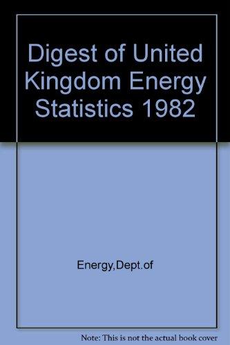 9780114111243: Digest of United Kingdom Energy Statistics