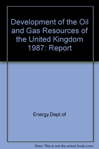 9780114128265: Development of the Oil and Gas Resources of the United Kingdom