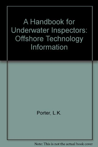 9780114129118: A Handbook for Underwater Inspectors: Offshore Technology Information
