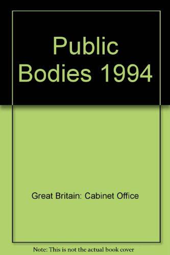 9780114301125: Public Bodies 1994
