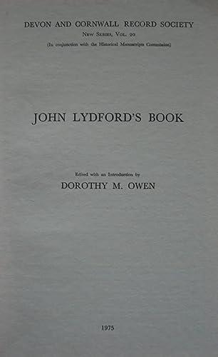 9780114400460: John Lydford's Book (New)