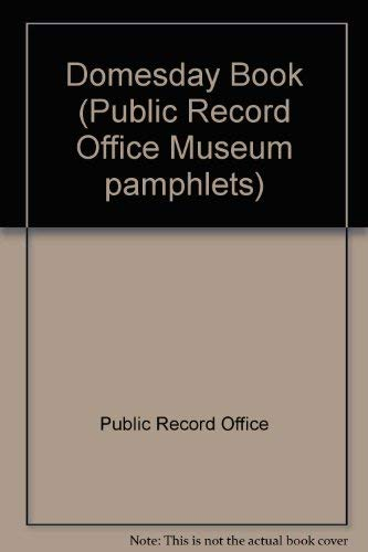 9780114401061: Domesday Book (Public Record Office Museum pamphlets)