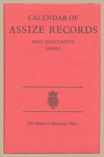 9780114401078: Calendar of Assize Records Kent Indictments, James I