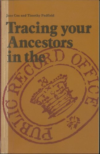 9780114401801: Tracing Your Ancestors in the Public Record Office (Public Record Office handbooks)