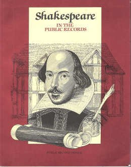9780114401924: Shakespeare in the Public Records