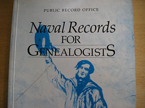 9780114402099: Naval Records for Genealogists (Public Record Office handbooks)