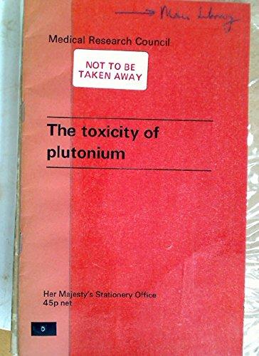 9780114500306: Toxicity of Plutonium