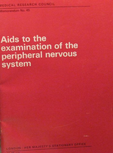 9780114500337: Aids to the Examination of the Peripheral Nervous System (Memoranda / Great Britain. Medical Research Council)